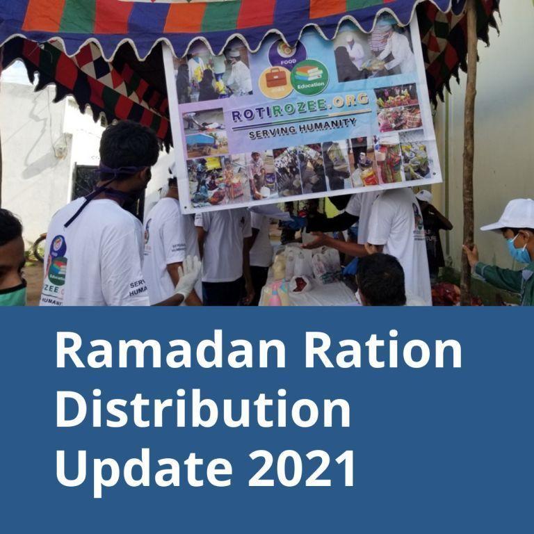 Ramadan  Food distribution 2021 – Updates