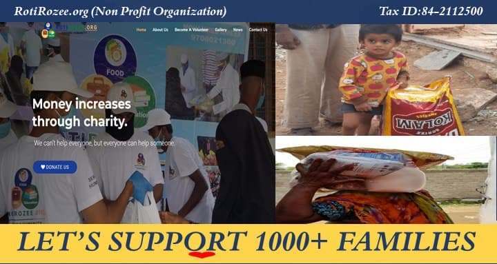 Lets Support 1000+ Families